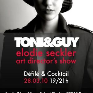 TONI&GUY : Elodie Seckeler Art diretor's show