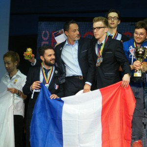 L'équipe de France a brillé à la Coupe d'Europe de coiffure à Moscou