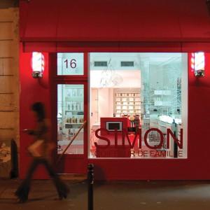 vitrine de salon de coiffure op ration s duction biblond pour les coiffeurs. Black Bedroom Furniture Sets. Home Design Ideas