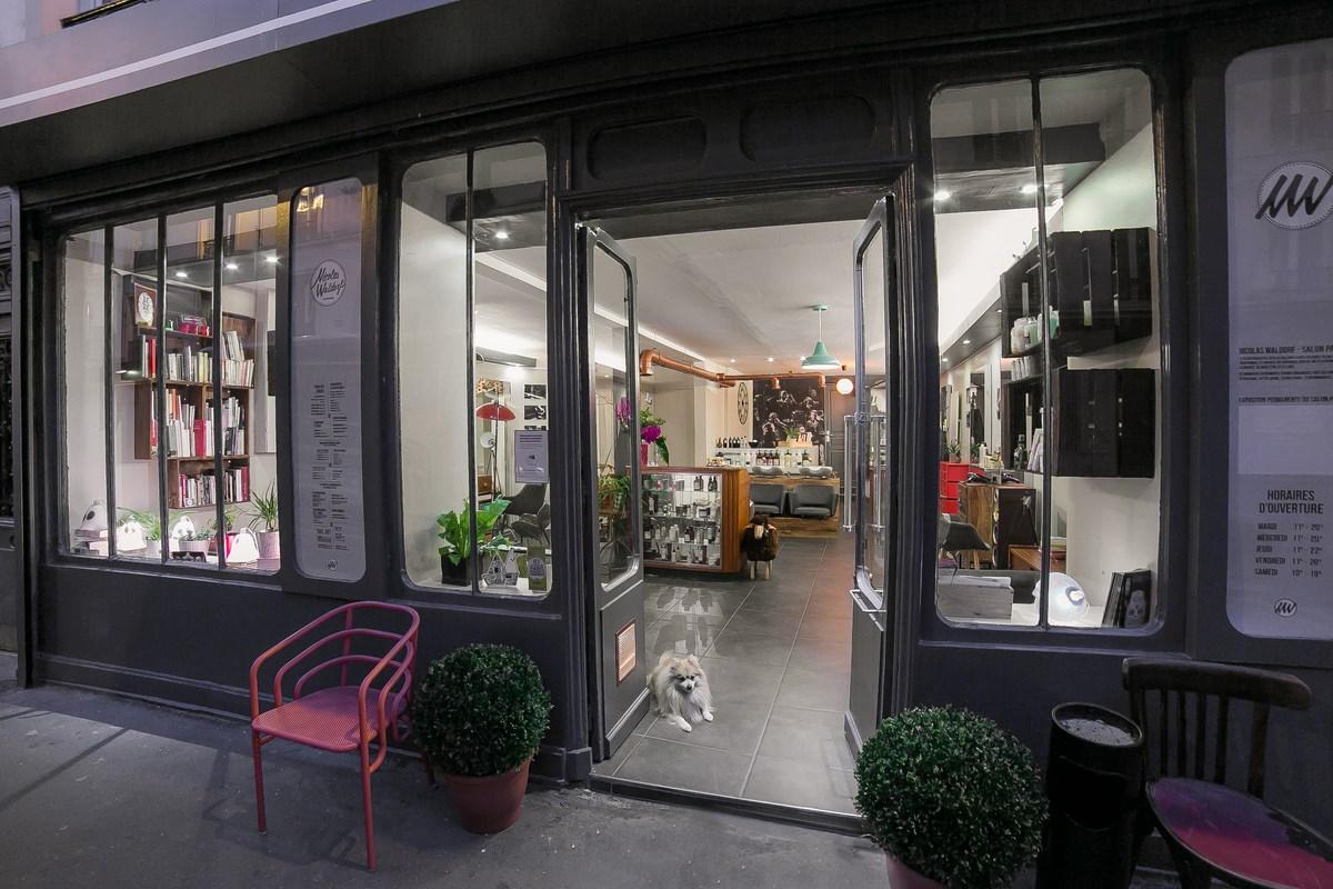 le salon parisien un concept qui casse les codes de la coiffure