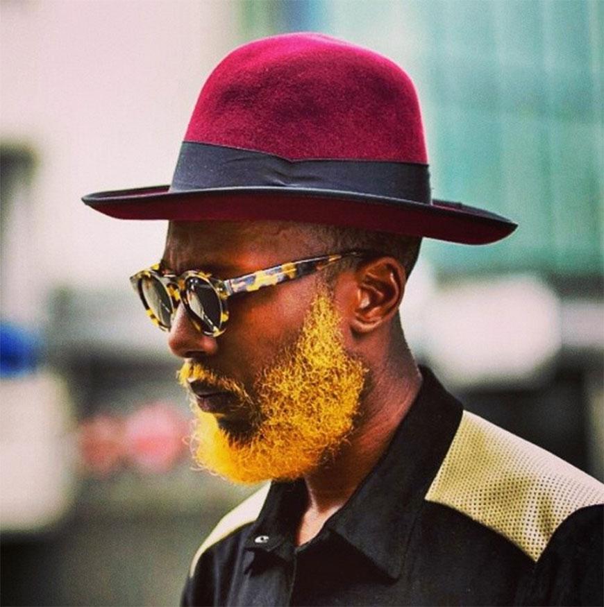 tendance masculine la coloration pour barbe - Coloration Pour Barbe