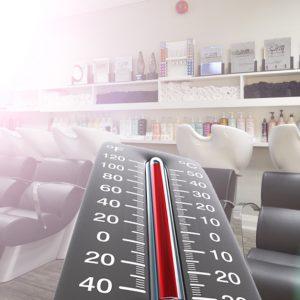 Les 10 situations en cas de canicule au salon de coiffure