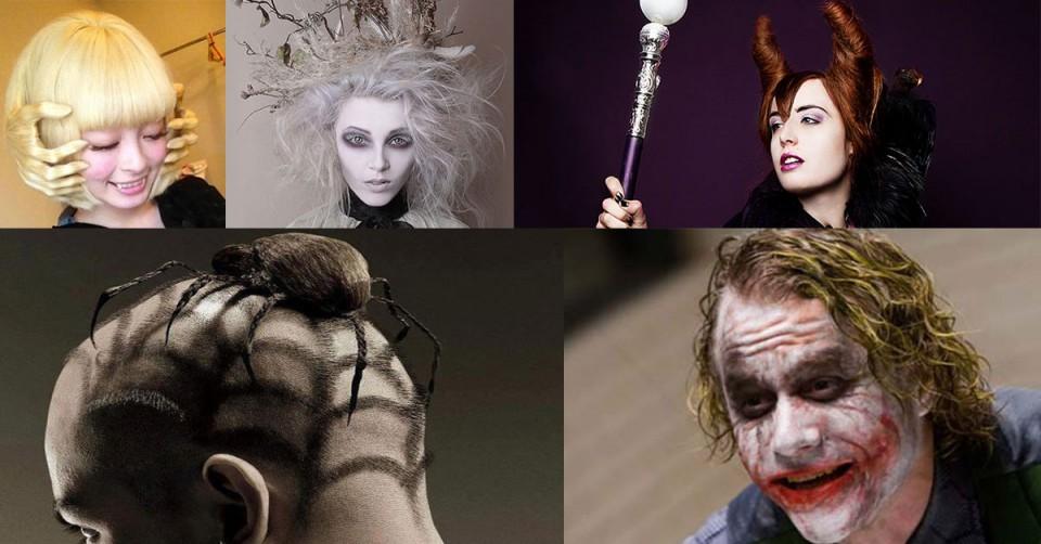 Top 10 des coiffures pour halloween biblond pour les coiffeurs - Coiffure halloween facile ...