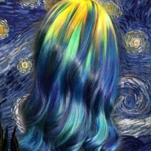 Des colorations inspirées d'œuvres d'art