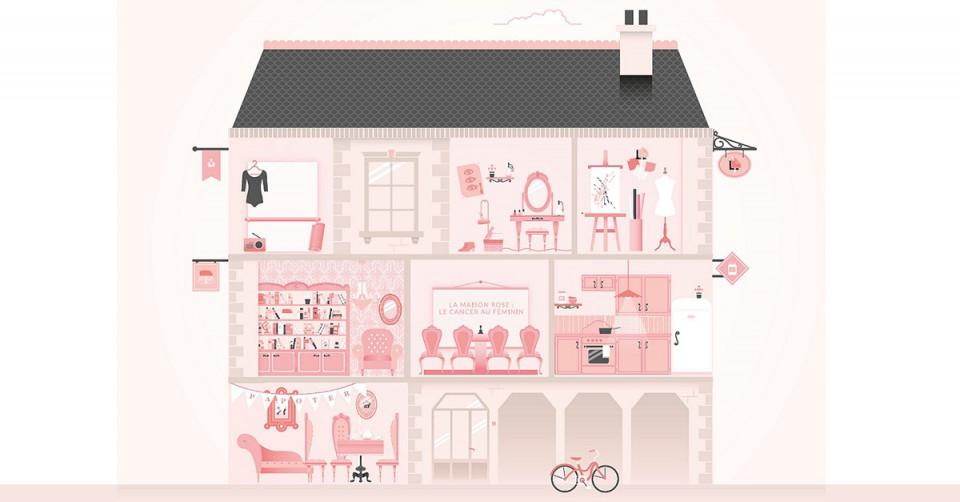 La maison rose pour accueillir les malades du cancer for Eugenie les bains la maison rose