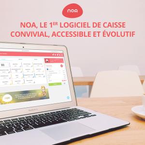 NOA, le 1er logiciel de caisse full web