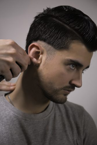 coiffure homme demarcation