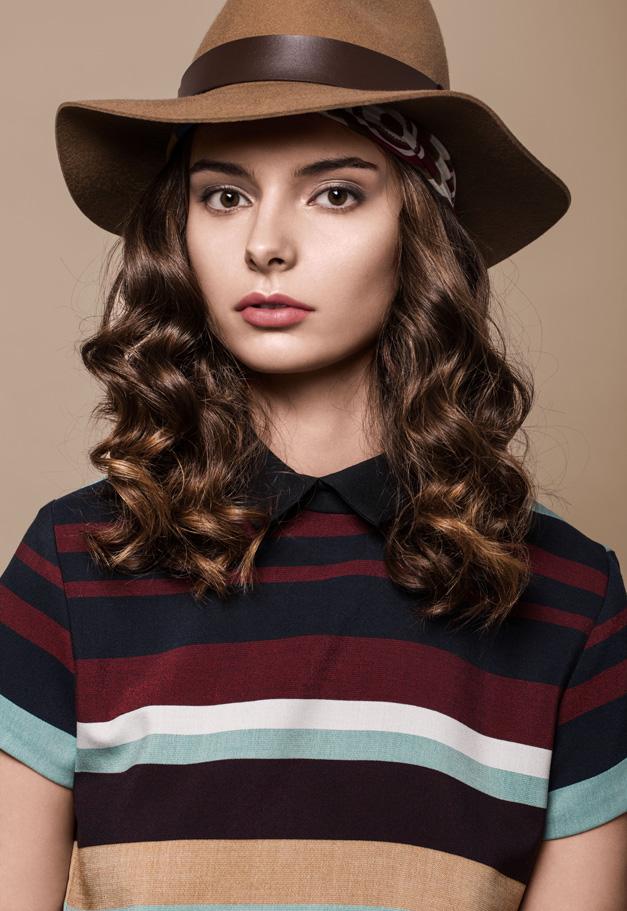 Long cranté avec chapeau