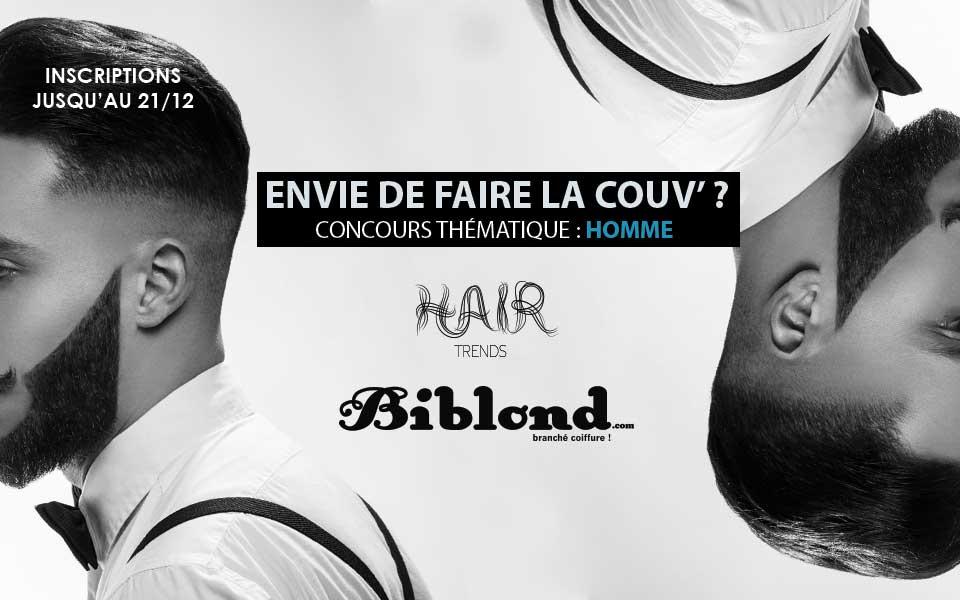 Concours Coiffure Homme Faites La Couverture De Biblond Biblond Pour Les Coiffeurs