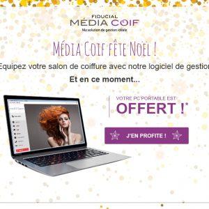 Fiducial : un PC offert pour tout achat d'un logiciel Média Coif