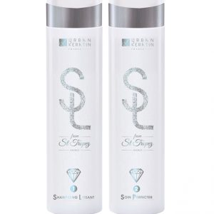Urban Keratin et son shampooing lissant from St-Tropez