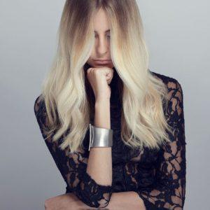 «Blond Obsession», la collection glaciale de Ludovic Geheniaux