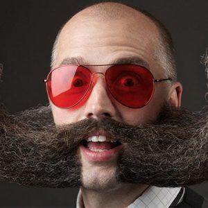 Le 1er championnat international de France de barbe et moustache