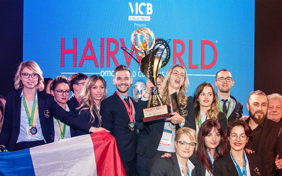 Champion du monde Hairworld MCB 2017 : l'équipe française