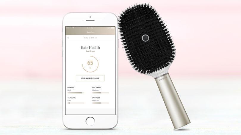 Hair coach par Kerastase : la brosse connectée