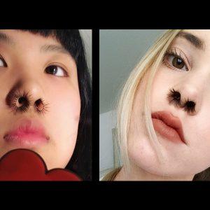 Extensions de nez, la nouvelle tendance complètement folle !