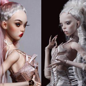 Coiffer des poupées : le travail des soeurs Popovy