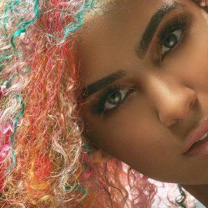 Rainbow Curls : les boucles arc-en-ciel !