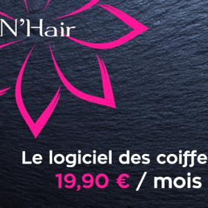 N'Hair, partenaire idéal de la gestion de votre salon de coiffure