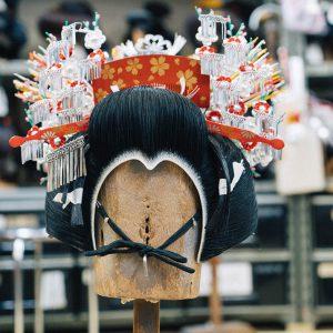 L'art de coiffer les geishas avec Kanehisa Osawa