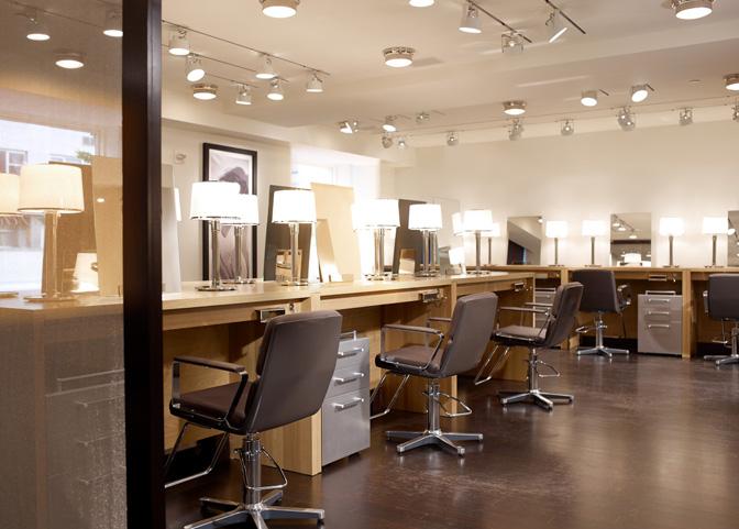 5 salons de coiffure install s dans des h tels de luxe for Coiffeur salon nyc