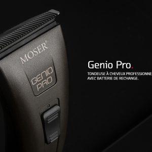 MOSER Genio Pro, la tondeuse professionnelle pour les coiffeurs et barbiers