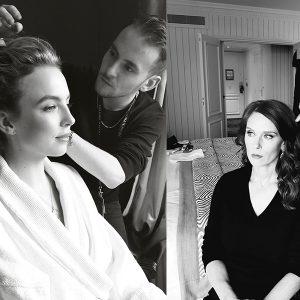 14 célébrités coiffées par Franck Provost au Festival Canneseries