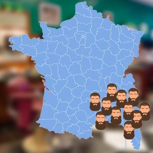 Les habitants du Sud de la France sont les plus barbus