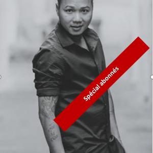 Portrait : Bunthoeun Stevens Outh directeur artistique Itsi-Ban, coach-formateur et coiffeur-partenaire Wella