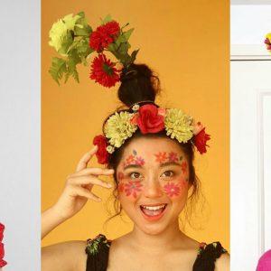 La fabuleuse tendance du Flower Vase Hair !