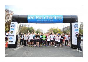 Les Bacchantes :  la course des moustachus de la Barbière de Paris