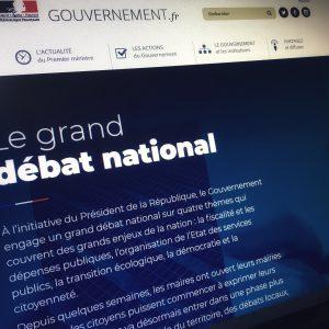 L'Unec s'engage dans le grand débat national