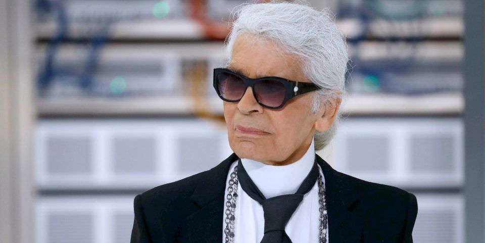 Karl Lagerfeld, photo Patrick Kovarik (AFP)
