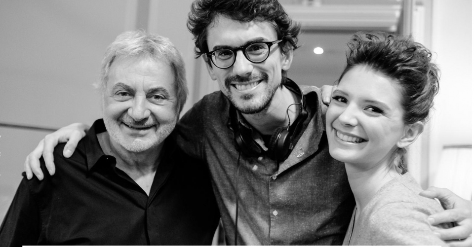 Franck Provost, Hugo Gélin et Joséphine Japy.