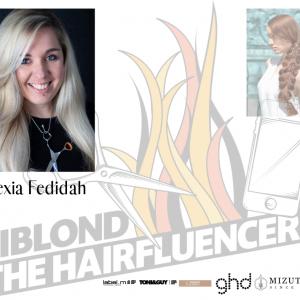 Biblond The Hairfluencers, portrait de la finaliste Alexia Fedidah