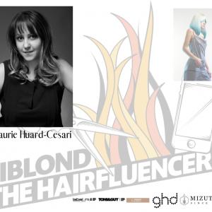 Biblond The Hairfluencers, portrait de la finaliste Laurie Huard-Cesari