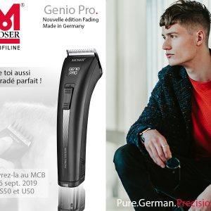 Wahl fête ses 100 ans et présente Genio Pro Fading Edition de Moser!