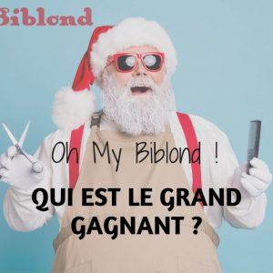 Oh My Biblond ! Qui a gagné plus de 1 000 € de cadeaux ?