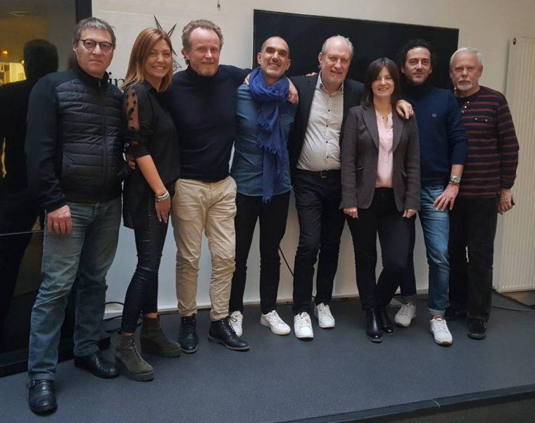 François Mazeau, Cathy Batit, Stéphane Bellamy, Nicolas Astruc, Thierry Tixier, Beata Bourillon, Pierre Barré et Jacques Fournillon.