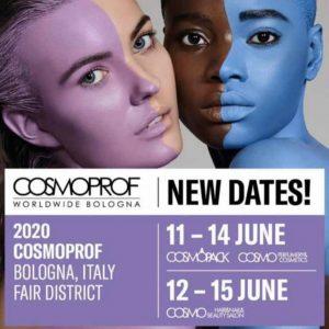 Nouvelles dates pour le Cosmoprof de Bologne