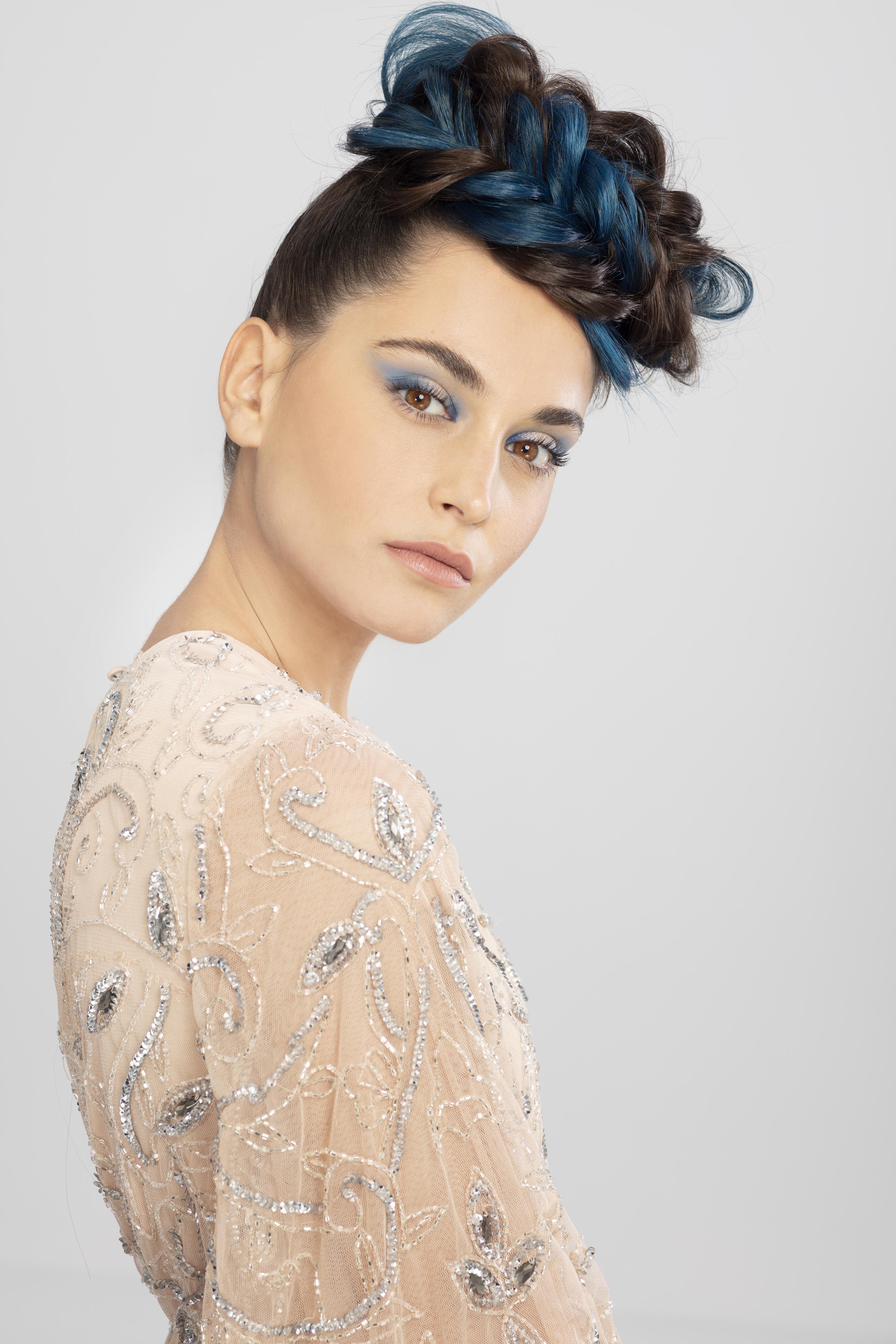 Direction artistique et coiffure : David Baehr, maquillage : Pauline Hauck, photos : Styl'List Images