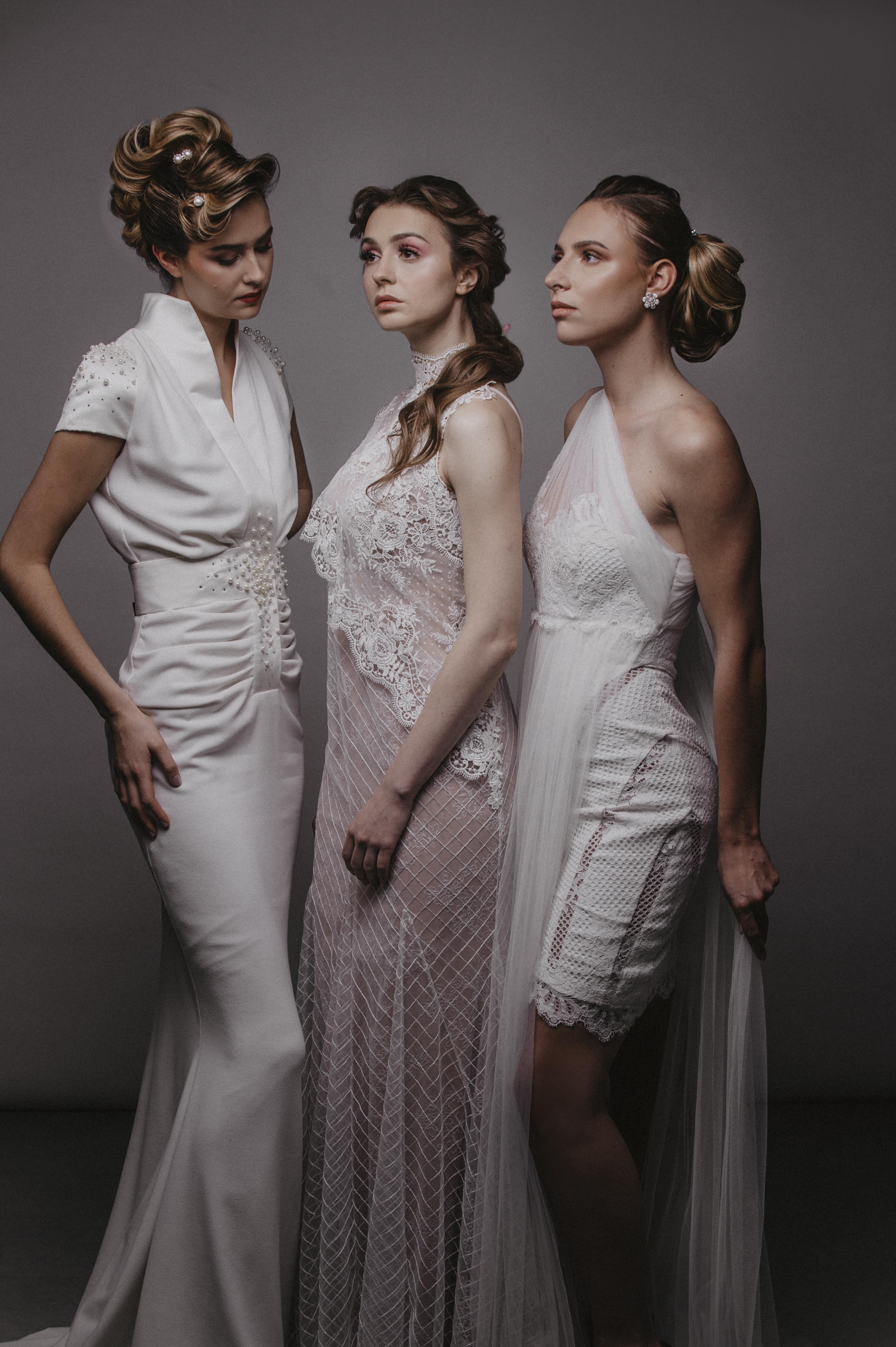 Coiffure : Fabrizio Castellano, maquillage : Alesandro Gentile, stylisme : Jacqueline Lienard, photos : Vision Photographie.