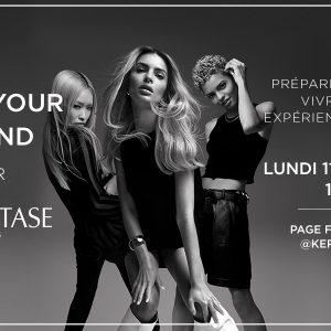 Rejoignez le live Kérastase «Love Your Blond»