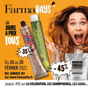 FarmaVita, la vie en couleurs!