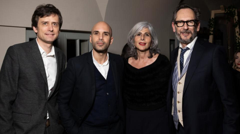 Filip Spacek, Omar Hajeri, Nathalie Roos et Mike Vincent.