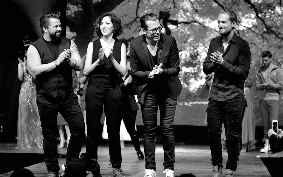 Cédric, Pascale Sonzoni, Christophe Gaillet et Eric Beauté Sélection 2018 Crédits photo :  David Jost